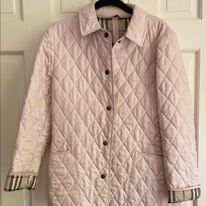 Authentic Burberry light pink coat